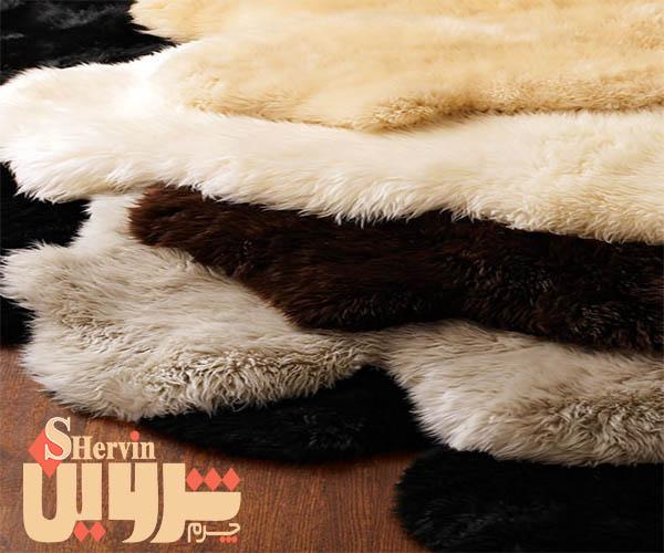 فروش پوست چرم گوسفندی مرینوس رنگی