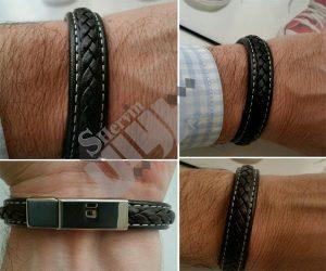 خرید دستبند چرم مردانه اصل