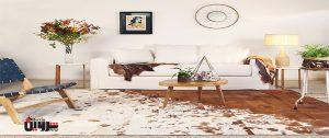 عرضه مستقیم چرم فرش طبیعی