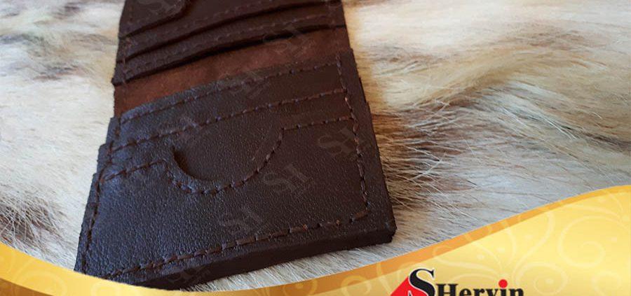 محصولات چرم طبیعی دست دوز